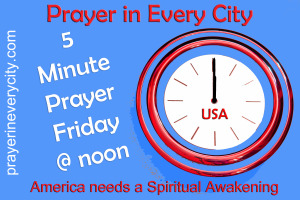 5 Minute Prayer Friday