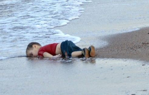 A three year old boy drowned leaving Syria